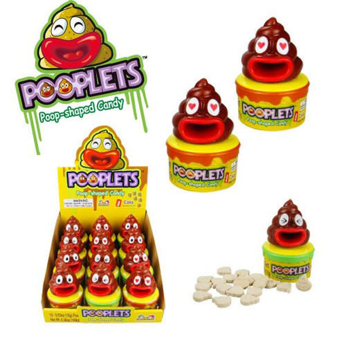 Pooplets Candy 12 Count