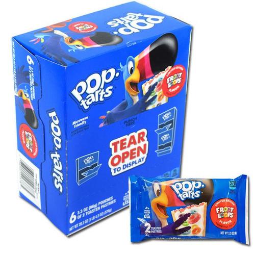 Pop Tarts Fruit Loops 6 Packs