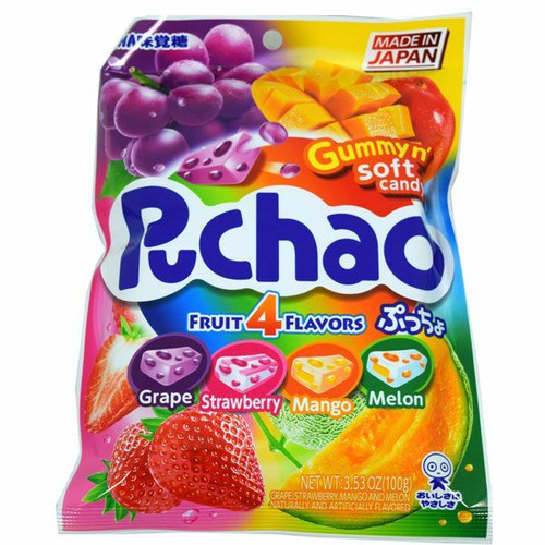Puchao Assorted Fruit Candy Mix 3.53oz Bag