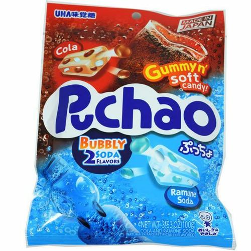 Puchao Cola & Soda Candy 3.53oz Bag
