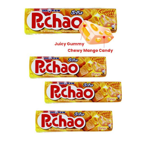 Puchao Mango Candy 10 Count