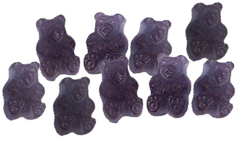 Grape Gummy Bears 5lb