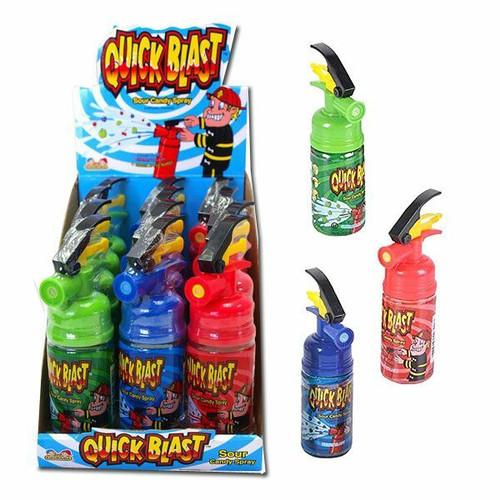 Quick Blast Candy Spray 12 Count
