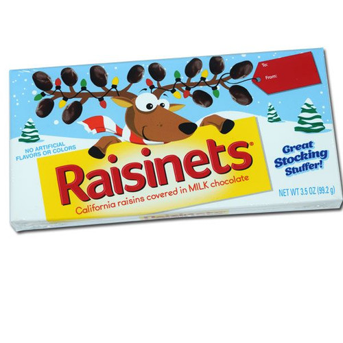 Raisinets Reindeer Box 3.5oz
