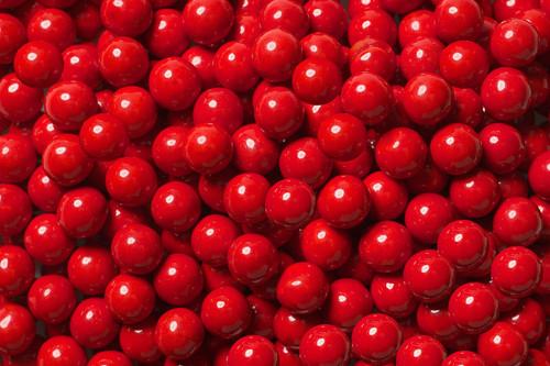 Red Mini Chocolate Candy Balls 2lb Sixlets