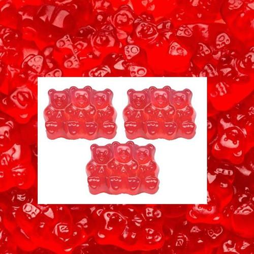 Gummi Bears Strawberry 5lb Bag