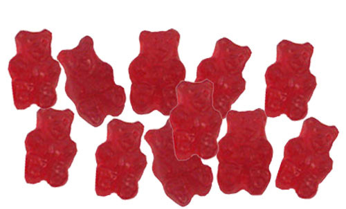 Cherry Gummy Bears 5lb