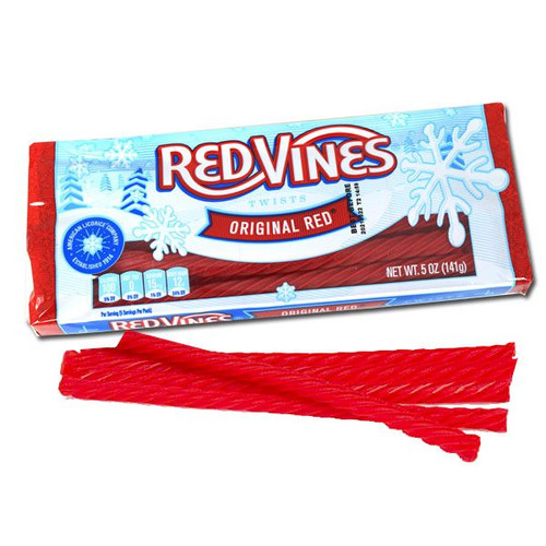 Red Vines Licorice Holiday 5oz Bag