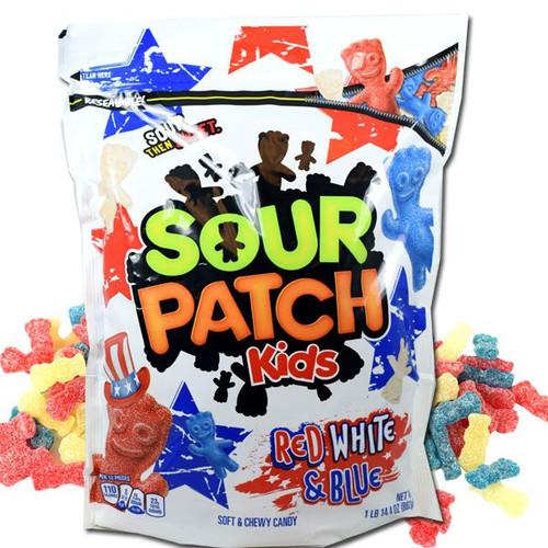 Sour Patch Kids Red, White, Blue 1.9lb Bag