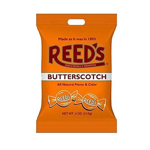Reed's Butterscotch Hard Candies 4oz Bag