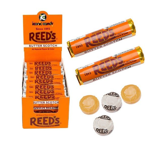 Reed's Butterscotch Rolls 24 Count