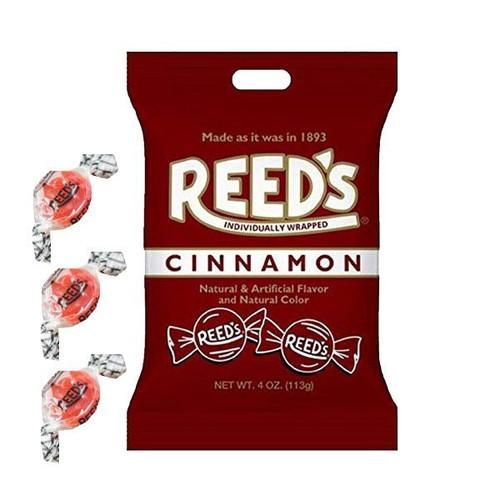 Reed's Cinnamon Hard Candies 4oz Bag