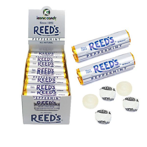 Reed's Peppermint Rolls 24 Count