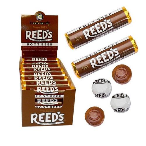 Reed's Root Beer Rolls 24 Count