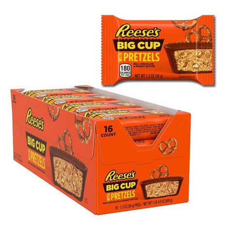 Reese's Big Cup With Pretzels 16 Count