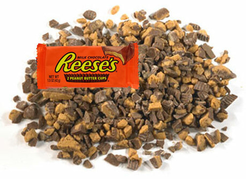 Reese's Peanut Butter Cup Chopped Topping 5lb Bag