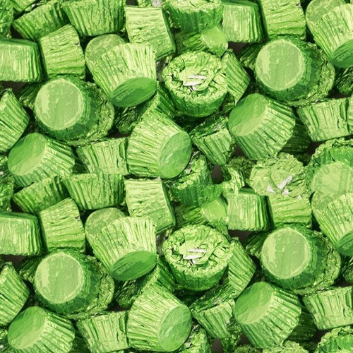 Reese's Mini Cups Lite Green 5lb Bag