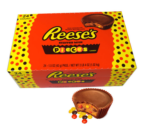 Reese's Pieces Peanut Butter Cup 24 Count