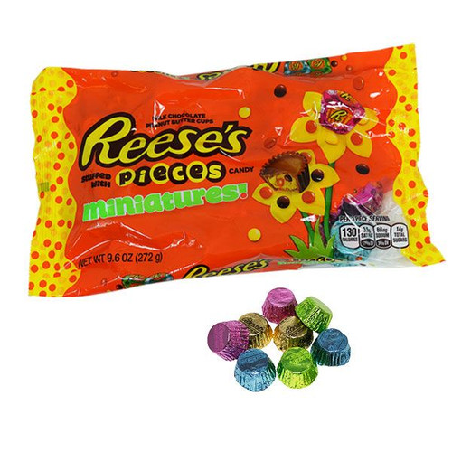 Reese's Pieces Peanut Butter Cups Mini 9.6oz