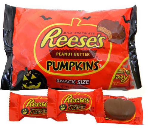 Reese's Pumpkins Snack Size 17 Count Bag