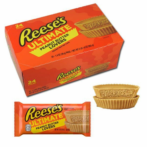 Reese's ULTIMATE Peanut Butter Lovers Cups 24 Count
