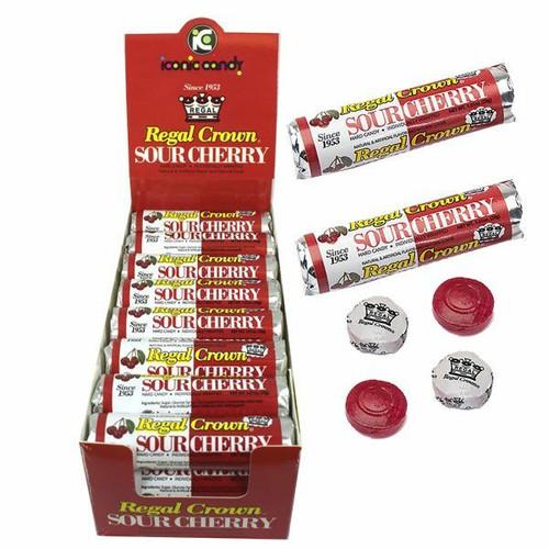 Regal Crown Sour Cherry Rolls 24 Count