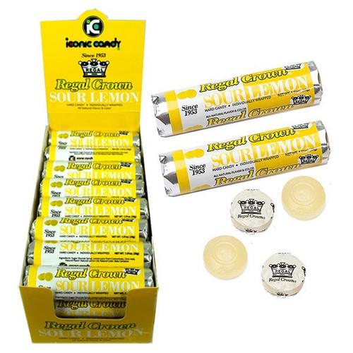 Regal Crown Sour Lemon Rolls 24 Count