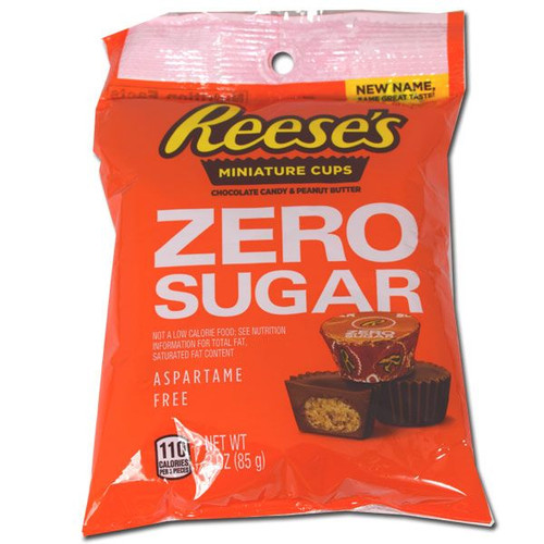 Reese's Peanut Butter Cups Sugar Free 3oz
