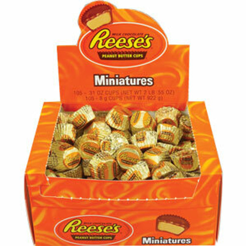 Reese's Peanut Butter Cup 105ct Miniature Size