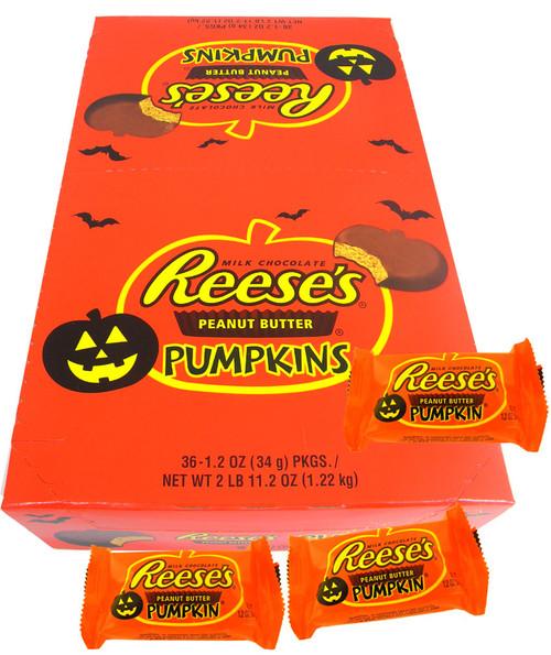 Reese's Peanut Butter Pumpkins 36ct Halloween Candy