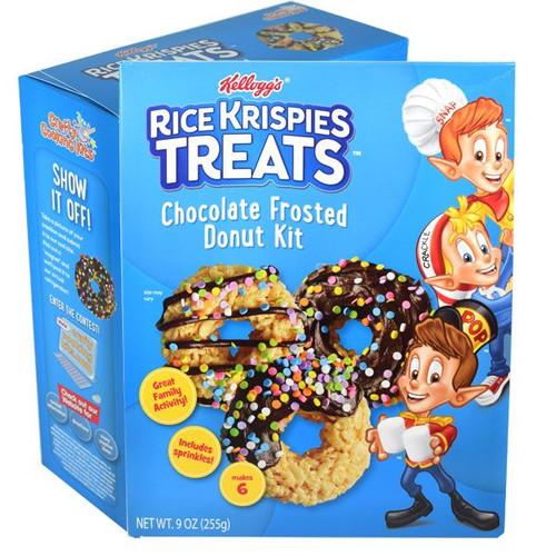 Rice Krispy Chocolate Donut Kit
