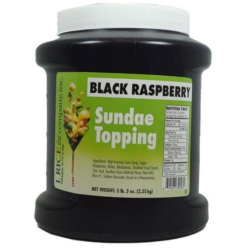 Rice's Black Raspberry Topping 4lbs