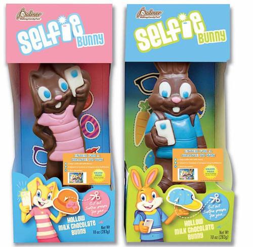 Selfie Chocolate Bunny (Boy or Girl)