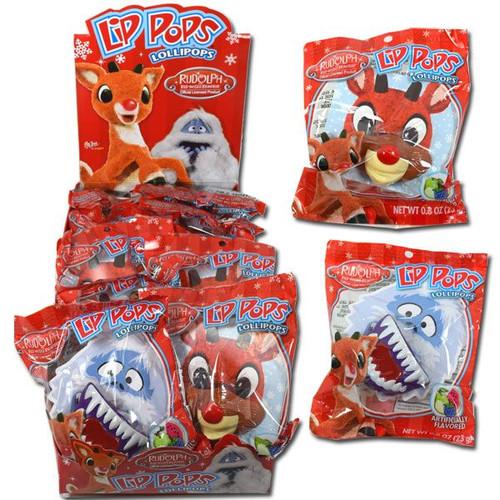 Rudolph & Friends Lips Lollipops 12 Count