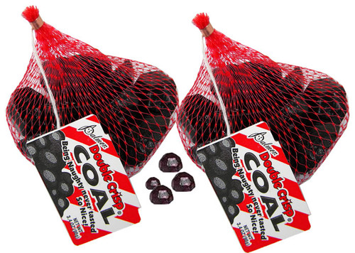 Santa's Candy Chocolate  Coal 3.4oz Bag (1) - RM Palmer