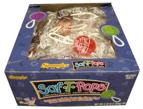 Saf T  Lollipops
