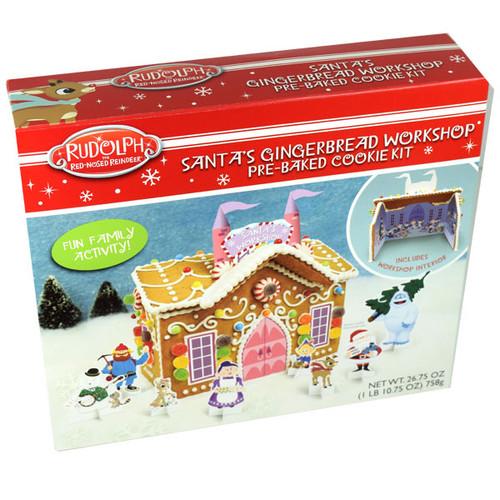 Santa's Gingerbread Workshop Kit