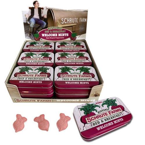 Schrute Farms Mints Tins 18 Count