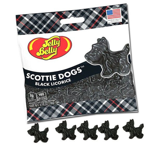 Scottie Dogs Black Licorice 2.75oz