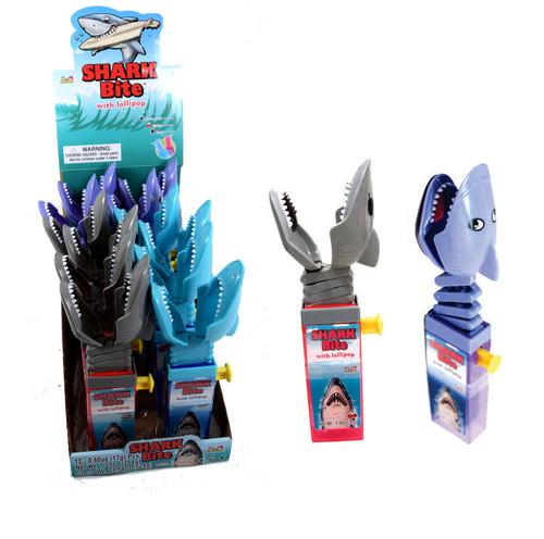 Shark Bite Lollipop Toy 12 Count