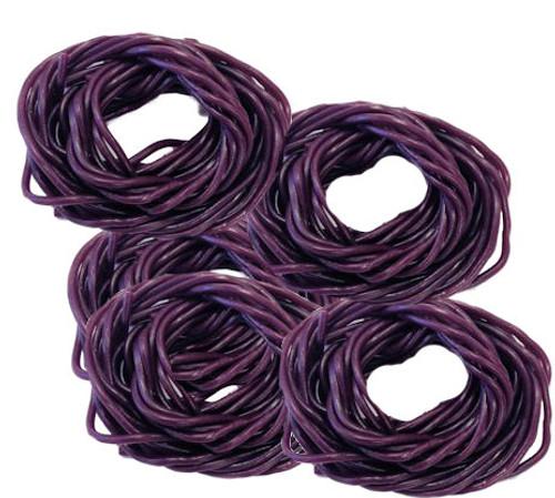Shoe String Licorice Grape 2lb (100ct)