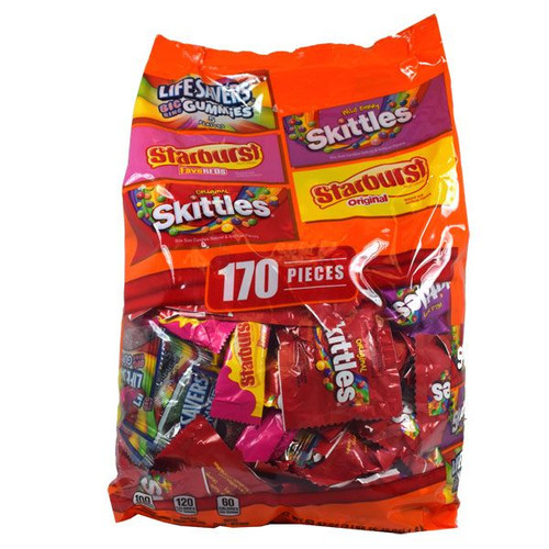 Skittle Starburst Variety 170 Count