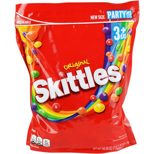 Skittles Original Candies Bulk 50oz Bag