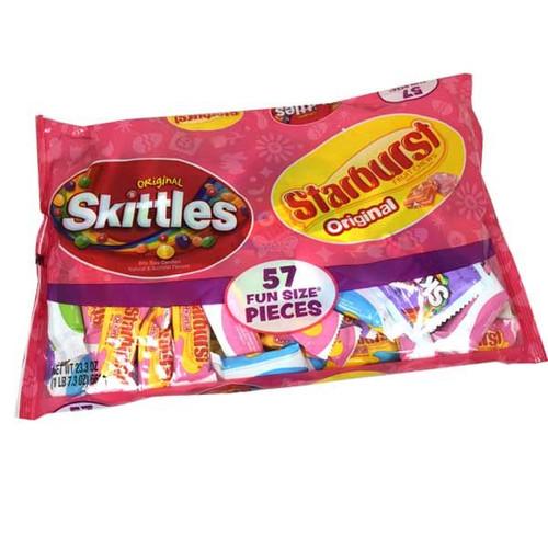 Skittles-Starburst Fun Size Candies 57 Count