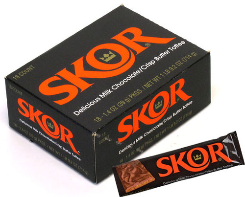 Skor Candy Bar 18 Count