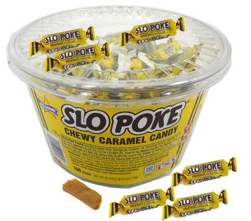 Slo Poke Candy - Bulk 160 Count