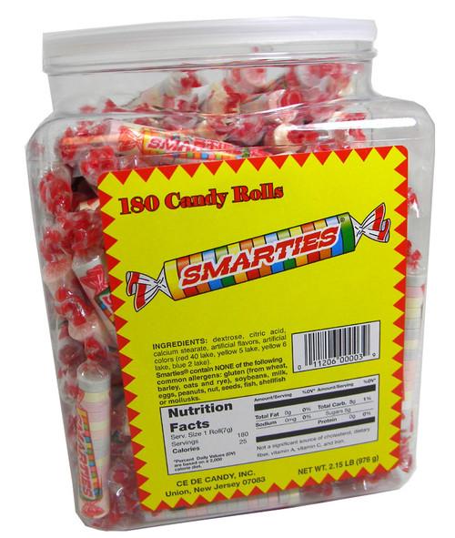 Smarties 180 Count Jar