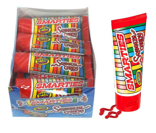 Smarties Squeeze Candy 12 Count
