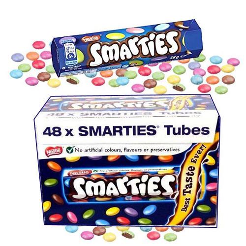 """Smarties """"UK"""" Hexagon 48 Count"""