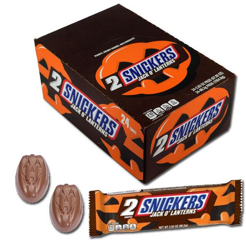 Snickers Pumpkins King Size 24 Count